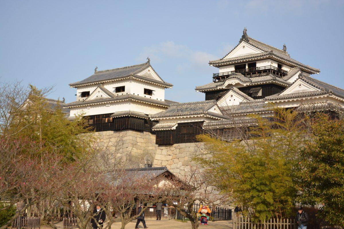 日本100名城スタンプラリー〜No81.松山城(MatsuyamaCastle)〜