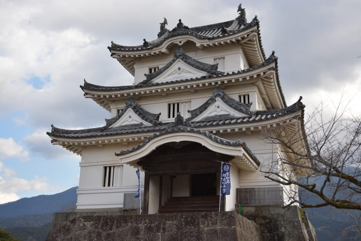 日本100名城スタンプラリー〜No83.宇和島城(UwajimaCastle)〜