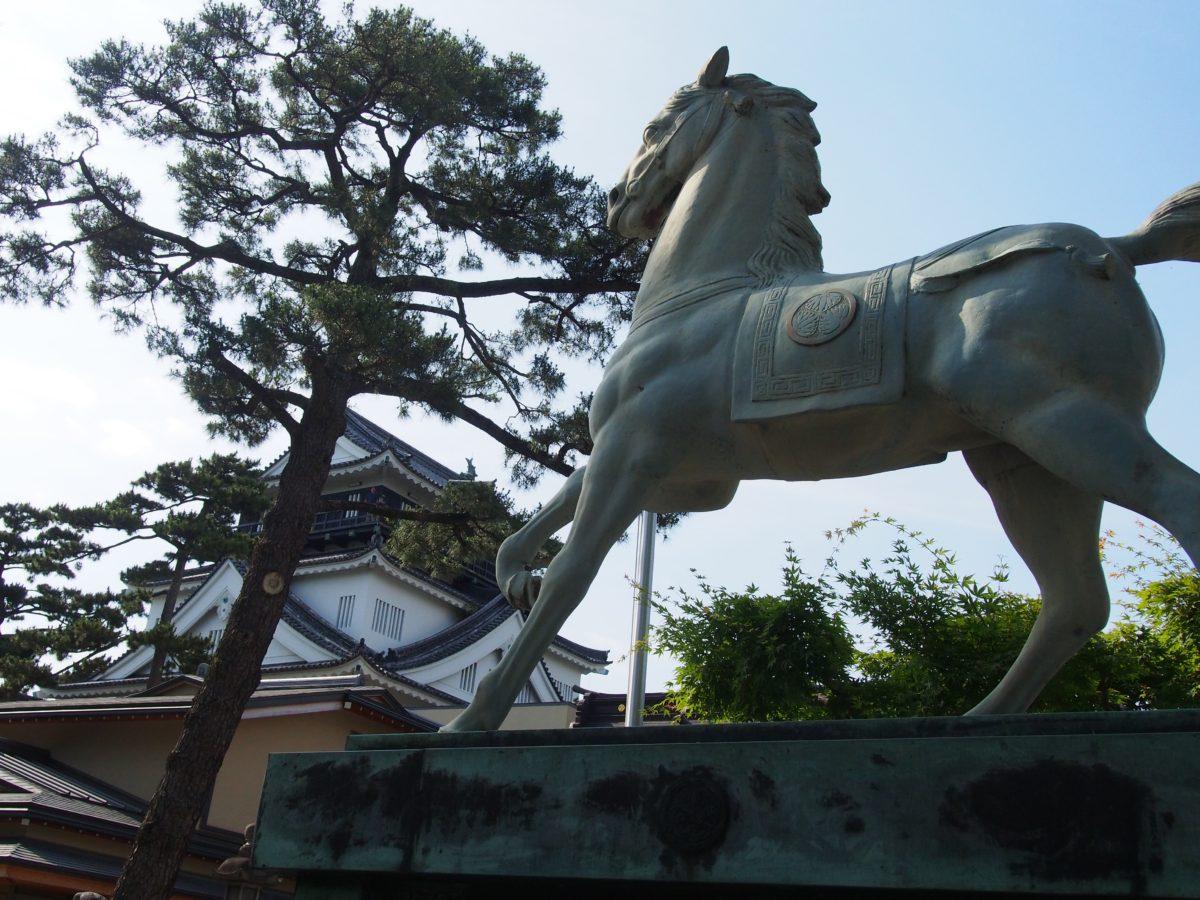 日本100名城スタンプラリー〜No45.岡崎城(OkazakiCastle)〜